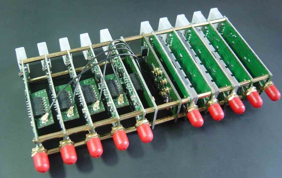 8 channel RTL-SDR coherent receiver